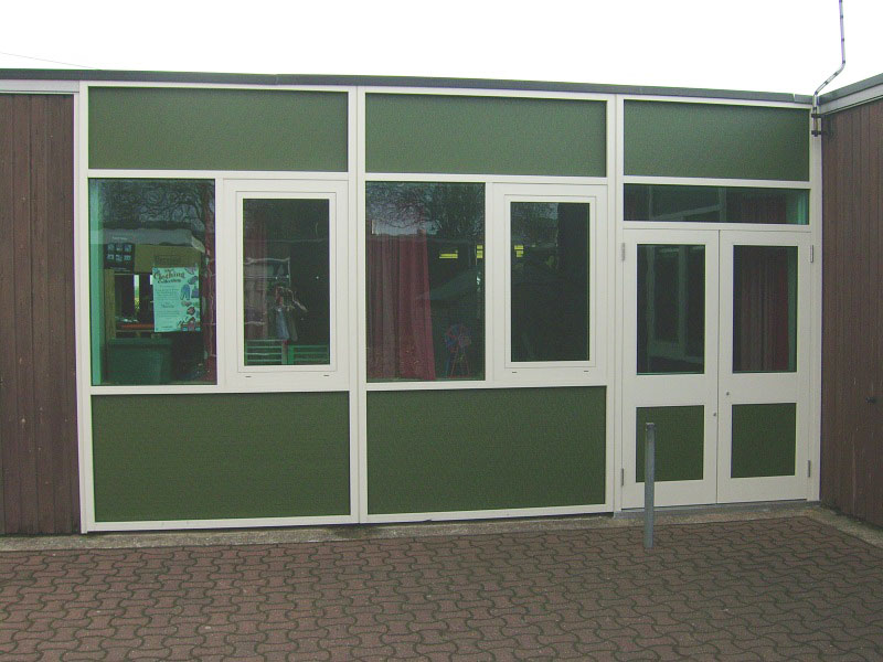 GRP Solid Colour Panels (Fybatex) | Smyth International